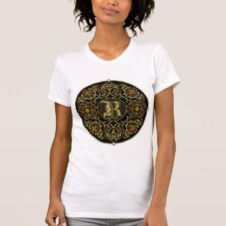 Grandes vista de la obra clásica 2 del monograma camisetas