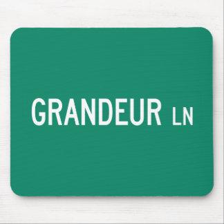 Grandeur Lane, Street Sign, North Carolina, US Mouse Pad
