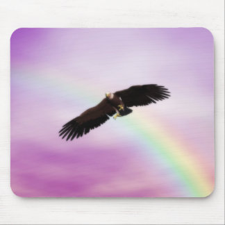 Grandeur of the Eagle Mouse Pad