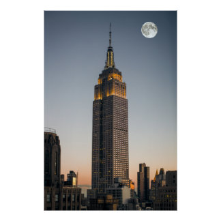 GRANDEUR of the EMPIRE STATE BUILDING Poster