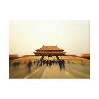 Grandeur of the Forbidden City Canvas Print