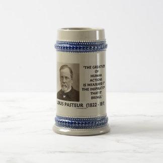 Grandeza de Pasteur de la inspiración de las accio Tazas De Café