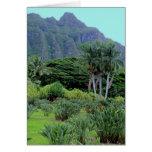 Grandeza tropical hawaiana felicitación