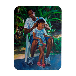 Grandfather and Child 2010 Magnet