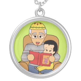 Grandfather and grandson pendants
