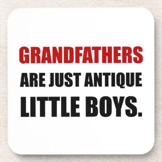 Grandfather Antique Boy Coaster