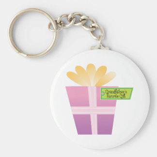Grandfather's Favorite Gift Keychains
