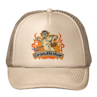 Grandfather Baseball Father's Day Gifts Trucker Hat
