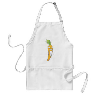 Grandfather Carrot Vegetable Adult Apron