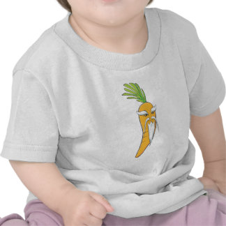 Grandfather Carrot Vegetable T-shirts