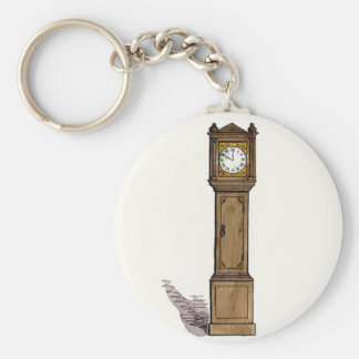 Grandfather Clock Keychain