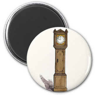 Grandfather Clock Magnet