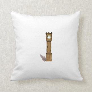 Grandfather Clock Throw Pillows