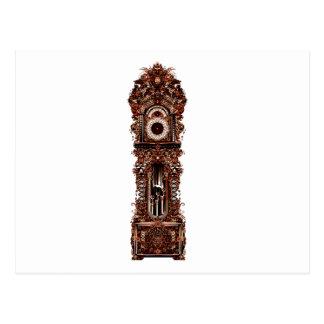 Grandfather Clock Postcard