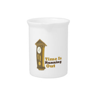 Grandfather_Clock_Time_Is_ Beverage Pitcher