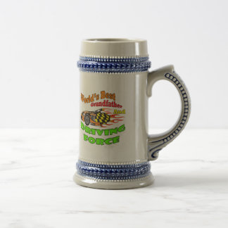 Grandfather Driving Force Father's Day Gifts Beer Stein