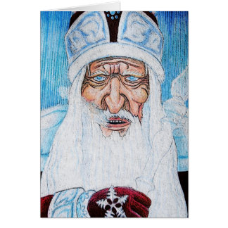 Grandfather Frost Cards