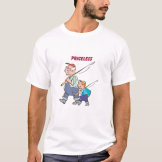 grandfather & grandson_fishing T-Shirt