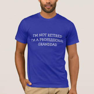 GRANDFATHER HOLIDAY GIFT SHIRT PROFESSIONAL GRAMPS