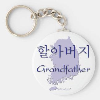 Grandfather (Korean) map Keychain