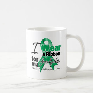 Grandfather - Liver Cancer Ribbon.png Classic White Coffee Mug