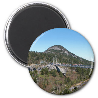 Grandfather mountain 2 inch round magnet