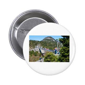 Grandfather mountain pinback button