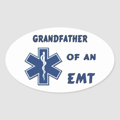 Grandfather of an EMT Sticker