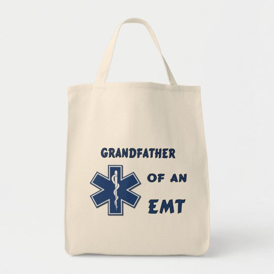 Grandfather of an EMT Tote Bag