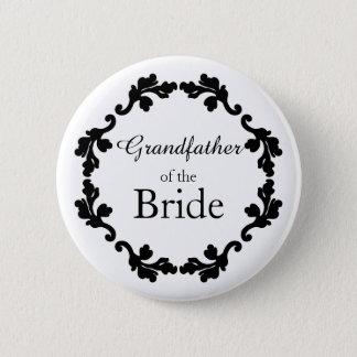 Grandfather of bride button