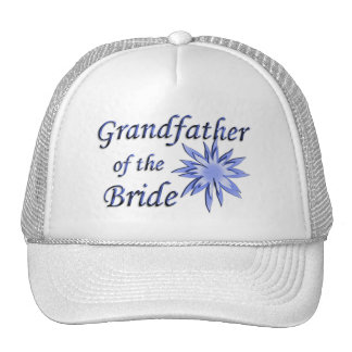 Grandfather of the Bride Blue Mesh Hats