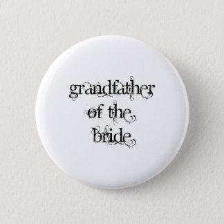 Grandfather of the Bride Button