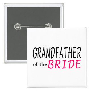 Grandfather Of The Bride Pins
