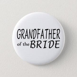 Grandfather Of The Bride Pinback Button