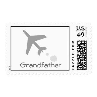 Grandfather Postage Stamp