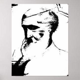 GRANDFATHER print on canvas