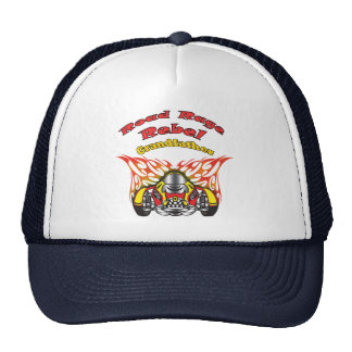 Grandfather Road Rage Racing Gifts Trucker Hats