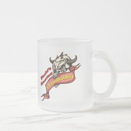 Grandfather Skull Father's Day Gifts Coffee Mug