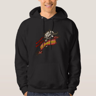 Grandfather Skull Father's Day Gifts Hoodie