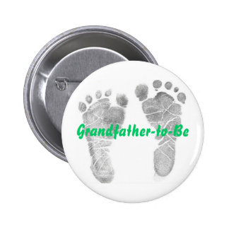 Grandfather-to-Be 2 Inch Round Button