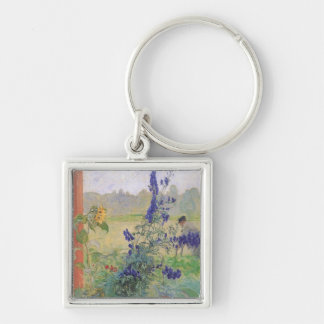 Grandfather with Flowers 1909 Keychain