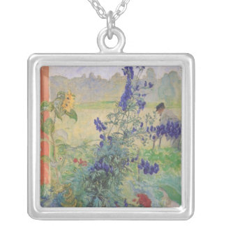 Grandfather with Flowers 1909 Pendant