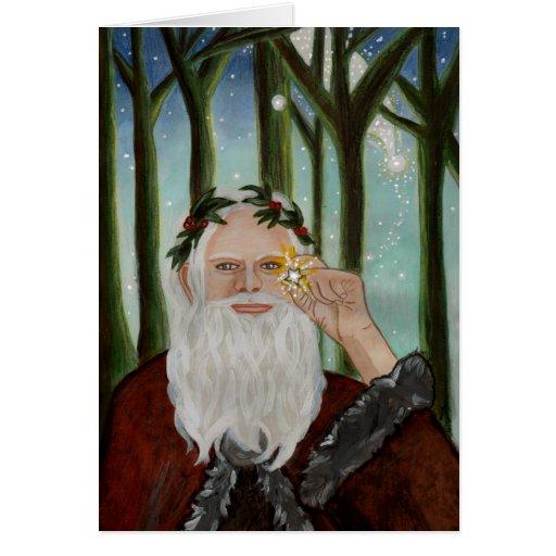 GrandfatherChristmas-Zazzle Greeting Card