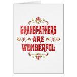 Grandfathers are Wonderful Greeting Card