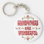 Grandfathers are Wonderful Keychains
