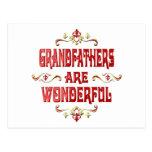 Grandfathers are Wonderful Postcard