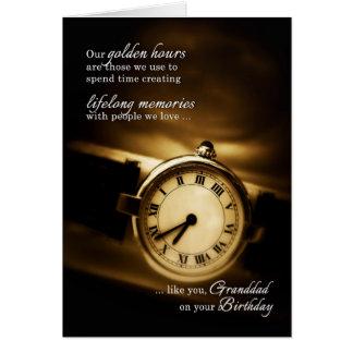 Grandfather's Birthday - Timeless Sentimental Card