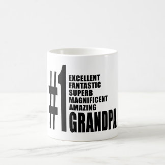 Grandfathers Birthdays : Number One Grandpa Coffee Mug