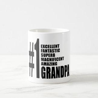 Grandfathers Birthdays : Number One Grandpa Coffee Mug