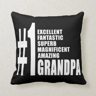 Grandfathers Birthdays Number One Grandpa Pillows